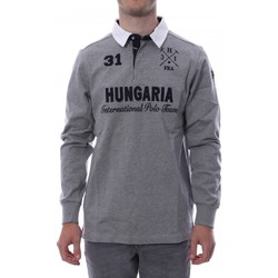 textil Hombre Polos manga larga Hungaria  Gris