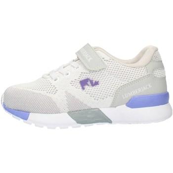 Zapatos Niña Zapatillas bajas Lumberjack SG62111001C27 Hielo blanco