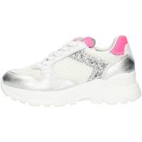 Zapatos Niña Zapatillas bajas Nero Giardini E031422F alto Chica plata plata
