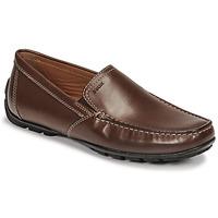 Zapatos Hombre Mocasín Geox MONET Marrón