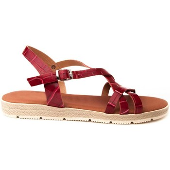 Zapatos Mujer Sandalias Wikers 66889 RED