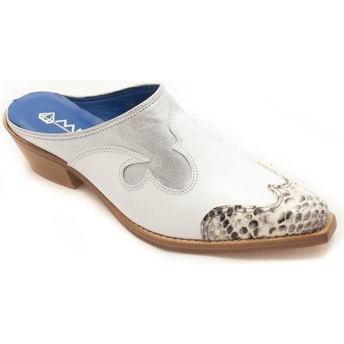 Zapatos Mujer Zuecos (Clogs) 2 Diamonds 10989 Blanco