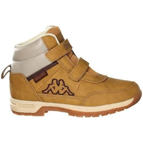 Zapatos Niños Botas de caña baja Kappa Bright Mid K Beige