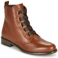 Zapatos Mujer Botas de caña baja Betty London NAMA Camel