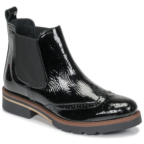 Zapatos Mujer Botas de caña baja Betty London NAVA Negro / Barniz