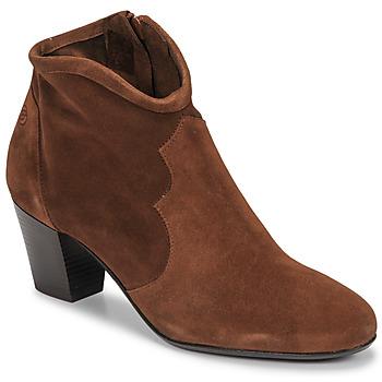 Zapatos Mujer Botines Betty London NORIANE Camel / Piel