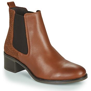 Zapatos Mujer Botines Betty London HASNI Rojizo