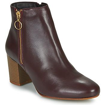 Zapatos Mujer Botines Betty London NILIVE Burdeo