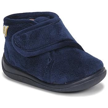 Zapatos Niño Pantuflas Citrouille et Compagnie HALI Marino