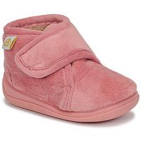 Zapatos Niña Pantuflas Citrouille et Compagnie HALI Envejecido / Rosa