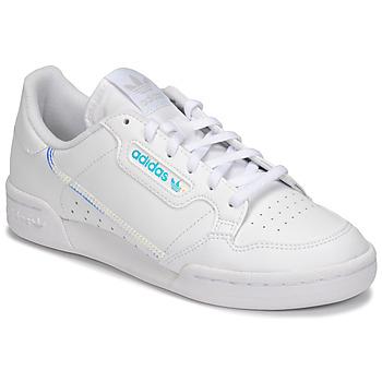 Zapatos Niños Zapatillas bajas adidas Originals CONTINENTAL 80 J Blanco