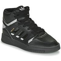 Zapatos Zapatillas bajas adidas Originals DROP STEP Negro / Plateado