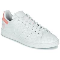 Zapatos Zapatillas bajas adidas Originals STAN SMITH W Blanco / Rosa