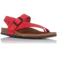 Zapatos Mujer Sandalias Interbios 7162 ROJO