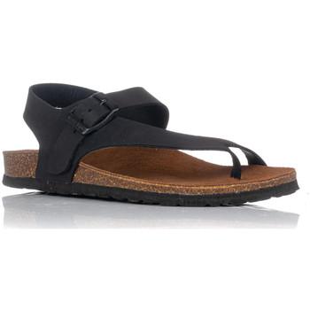 Zapatos Mujer Sandalias Interbios 7162 NEGRO