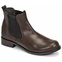 Zapatos Mujer Botas de caña baja So Size NITINE Marrón