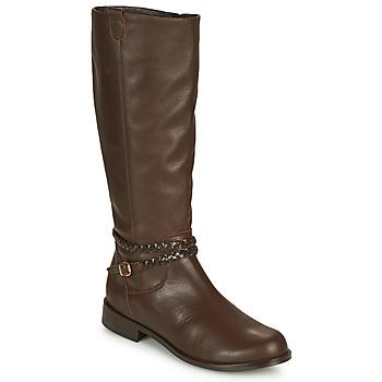 Zapatos Mujer Botas urbanas So Size AURELIO Marrón