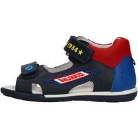 Zapatos Niño Zapatos para el agua Balducci - Sandalo blu/rosso CITA3604 BLU