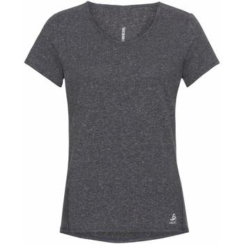 textil Mujer Camisetas manga corta Odlo T-shirt femme  Lou Linencool gris