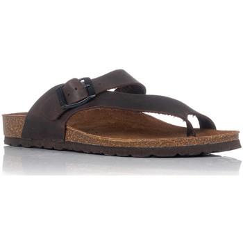Zapatos Mujer Sandalias Interbios 7119 MOKA
