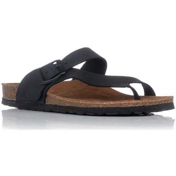 Zapatos Mujer Sandalias Interbios 7119 NEGRO
