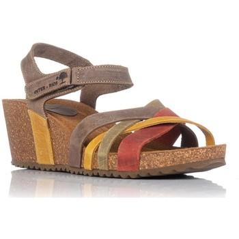Zapatos Mujer Sandalias Interbios 5637 TEJA
