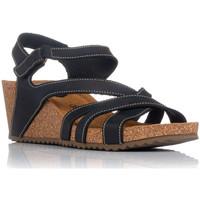 Zapatos Mujer Sandalias Interbios 5633 NEGRO