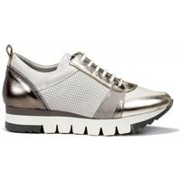 Zapatos Mujer Zapatillas bajas Dorking Charlot D8109 Platino oro
