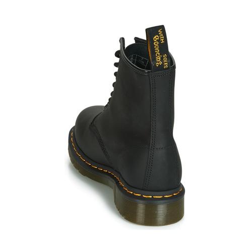 De Baja Negro Caña Botas Martens Zapatos Dr 1460 tshrdCxBoQ