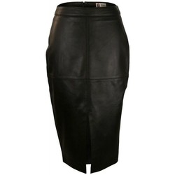 textil Mujer Faldas Zerimar BROOK Negro