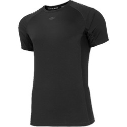 textil Hombre Camisetas manga corta 4F Men's Functional T-shirt Noir