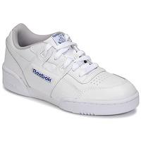 Zapatos Niños Zapatillas bajas Reebok Classic WORKOUT PLUS Blanco