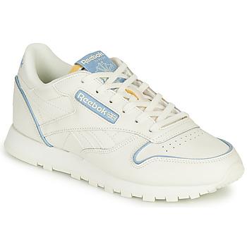 Zapatos Zapatillas bajas Reebok Classic CL LTHR Blanco