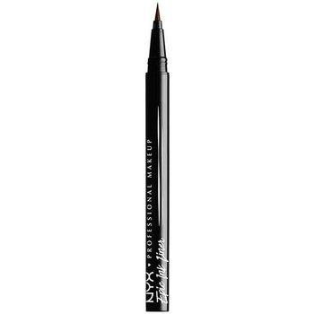 Belleza Mujer Lápiz de ojos Nyx Epic Ink Liner Eyeliner Waterproof brown  1 ml