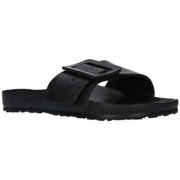 Zapatos Mujer Zuecos (Mules) Kelara K02022 Mujer Negro noir