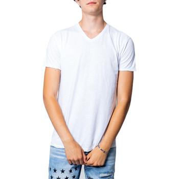 textil Hombre Camisetas manga corta Brian Brome 23/102-398 Bianco