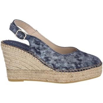 Zapatos Mujer Alpargatas Ramoncinas PUNTA ALPARGATAS STORM TESHUB AZUL