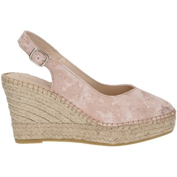 Zapatos Mujer Alpargatas Ramoncinas PUNTA ALPARGATAS STORM TESHUB ROSA