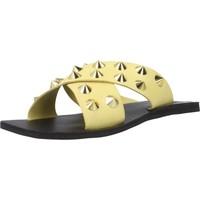 Zapatos Mujer Zuecos (Mules) Inuovo 478003I Amarillo