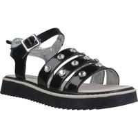 Zapatos Niña Sandalias Asso AG6703 Negro