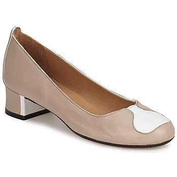 Zapatos Mujer Zapatos de tacón Robert Clergerie SALSA BEIGE-BLANCO