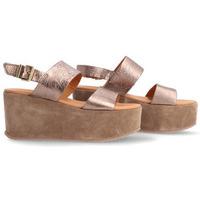 Zapatos Mujer Sandalias Alpe YACARÉ Cobre