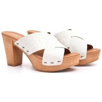 Zapatos Mujer Zuecos (Clogs) Alpe IPANEMA Blanco