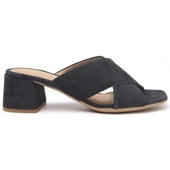 Zapatos Mujer Zuecos (Mules) Alpe ANGELINE Marino