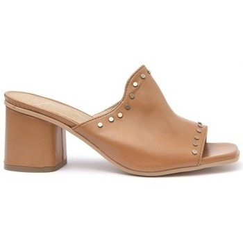 Zapatos Mujer Zuecos (Mules) Alpe ANAI Camel