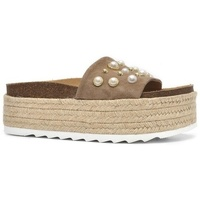 Zapatos Mujer Zuecos (Mules) Alpe MICHELLE Humus