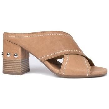 Zapatos Mujer Zuecos (Mules) Alpe VALERY Cuero