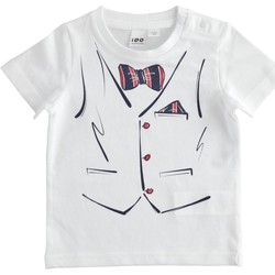 textil Niño camisetas manga corta Ido 4J692 Blanco
