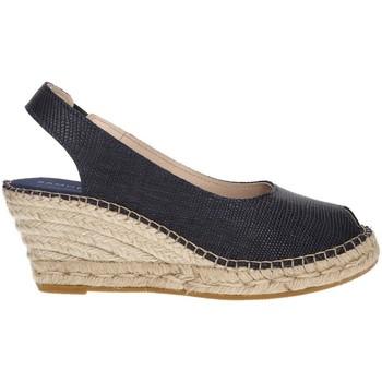 Zapatos Mujer Alpargatas Ramoncinas ALPARGATAS VIBORA 5 CUERDAS AZUL