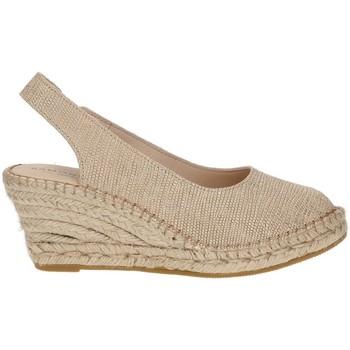 Zapatos Mujer Alpargatas Ramoncinas ALPARGATAS VIBORA 5 CUERDAS BEIGE